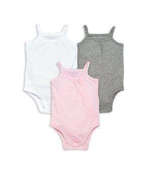 Classic Organic Baby Bodysuit 3-Pack