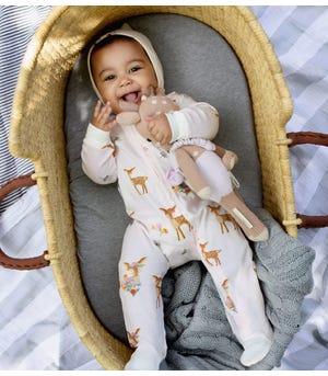 Sweet Doe Organic Baby Sleep & Play Pajamas
