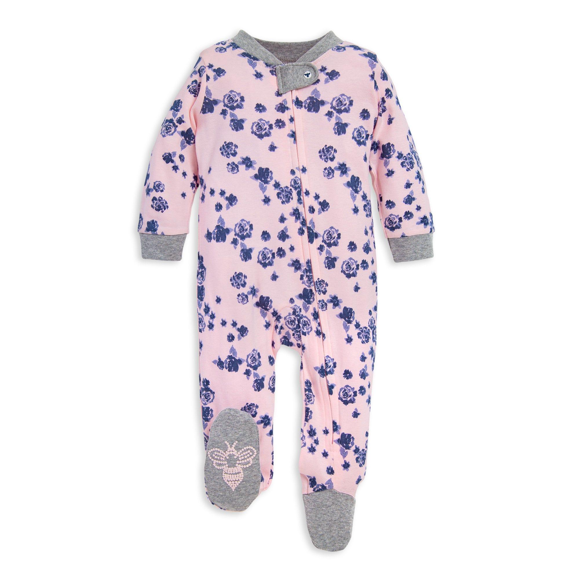 Essentials Baby Snug-fit Cotton Footed Sleeper Pajamas