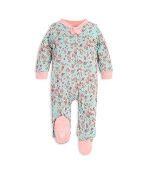 Ditsy Floral Print Organic Baby Sleep & Play Pajamas