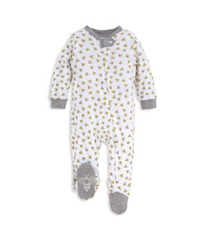 Honey Bee Organic Baby Sleep & Play Pajamas