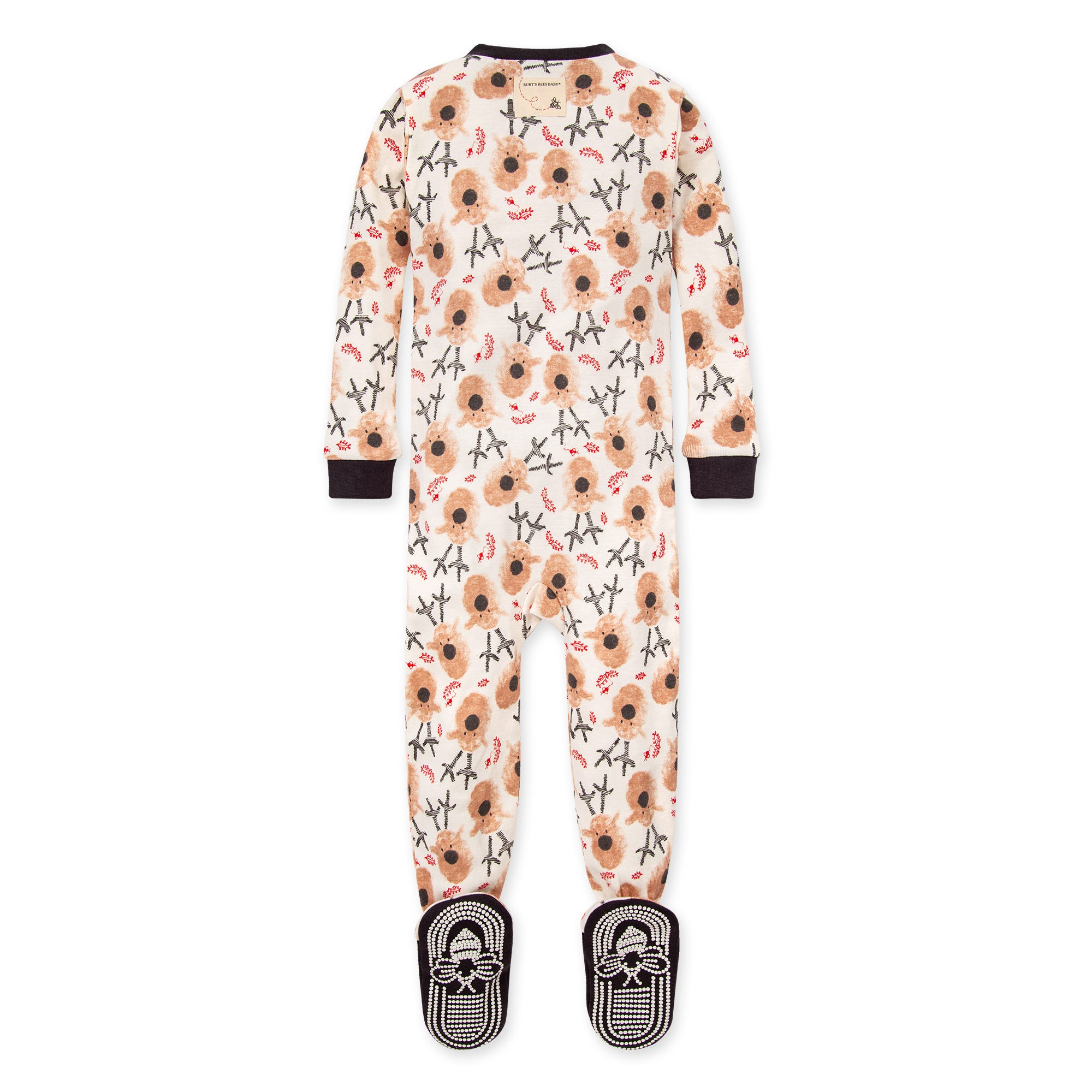 Family PJs Baby and Toddler One Piece Footed Unisex Holiday Pajamas 18 month