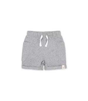 French Terry Organic Baby Rolled Cuff Shorts