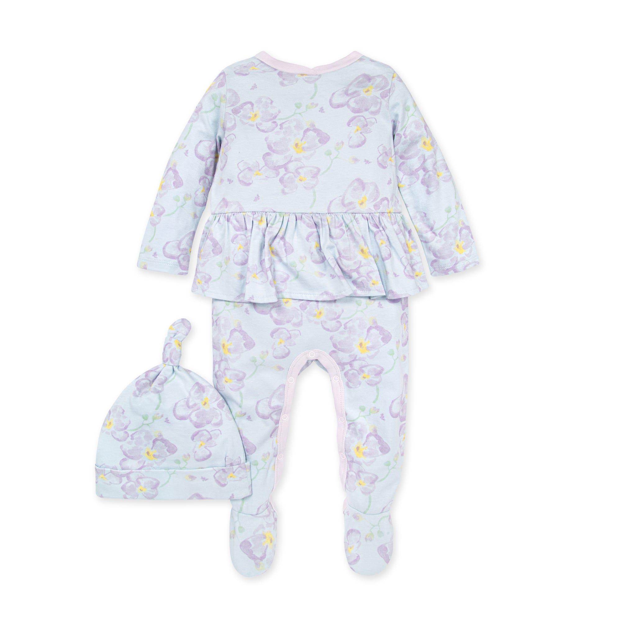 summer children/'s set Size 62; 3 tlg shorts Baby set hippo baby pants neckerchief knot hat children/'s set summer pants