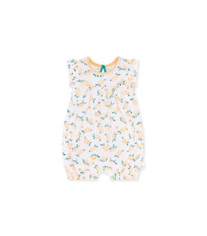 Slow & Steady Organic Baby Bubble Romper