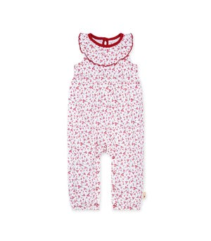 Cherry Bunches Organic Baby Jumpsuit Cloud 0-3 Months