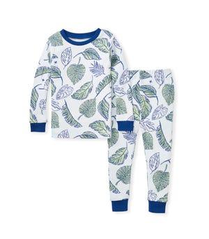 Jungle Canopy Snug Fit Organic Baby Pajamas Macaw 12 Months