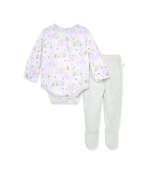 Tiger Time Organic Baby Bodysuit & Honeycomb Pointelle Pant Set