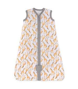 Giraffes Organic Cotton Beekeeper Wearable Blanket Cloud Large