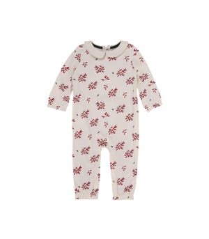Delicate Sprigs Organic Baby Jumpsuit