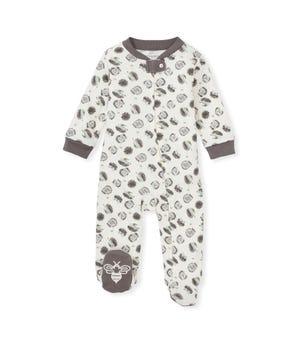 Happy Hedgehogs Organic Baby Sleep & Play Charcoal 0-3 Months