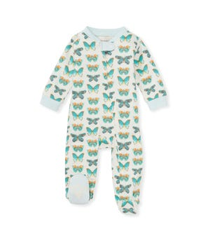 Butterfly Chart Organic Baby Sleep & Play