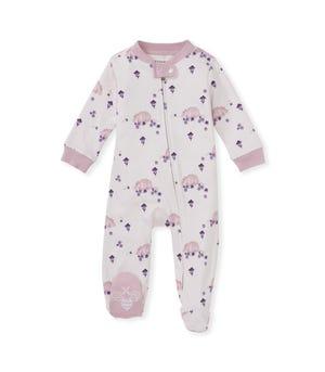 Happy Armadillo Organic Baby Sleep & Play Blush Quartz 0-3 Months