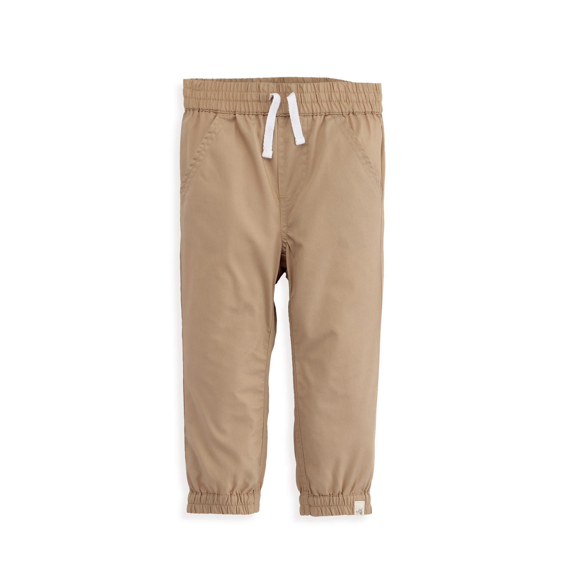 NEW Burts Baby Bees Poplin Gingham Shirt//Poplin Jogger Pant Set Sizes 3T,4T,5Y