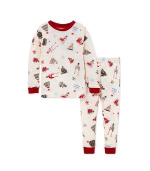 Holiday Hats Organic Baby Holiday Pajamas