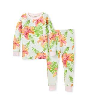 Lily Oasis Snug Fit Organic Toddler Pajamas Dawn 2 Toddler