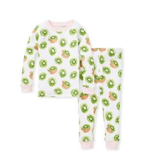 Kiwi Snug Fit Organic Toddler Pajamas Dawn 2 Toddler
