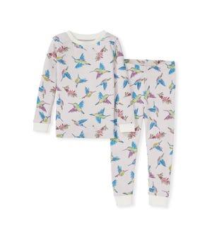 Early Bird Organic Toddler Snug Fit Pajamas