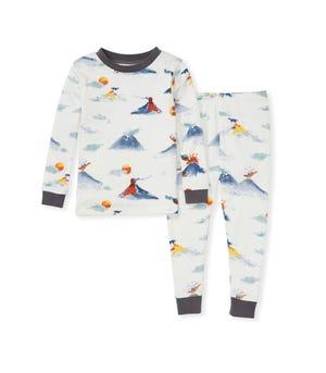 Mt Vesuvius Organic Toddler Snug Fit Pajamas