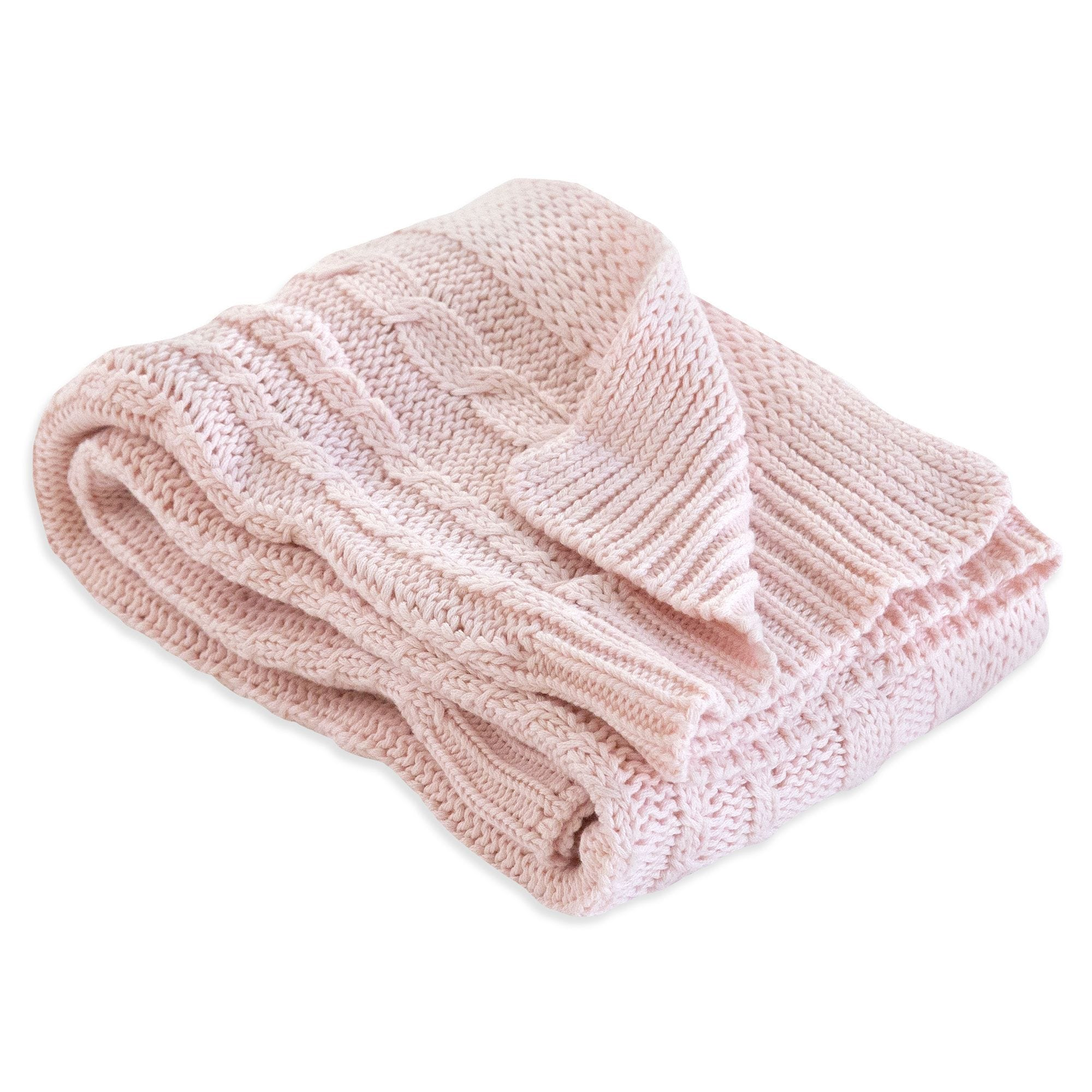 1f54f8cefd Organic Cable Knit Organic Baby Sweater Blanket