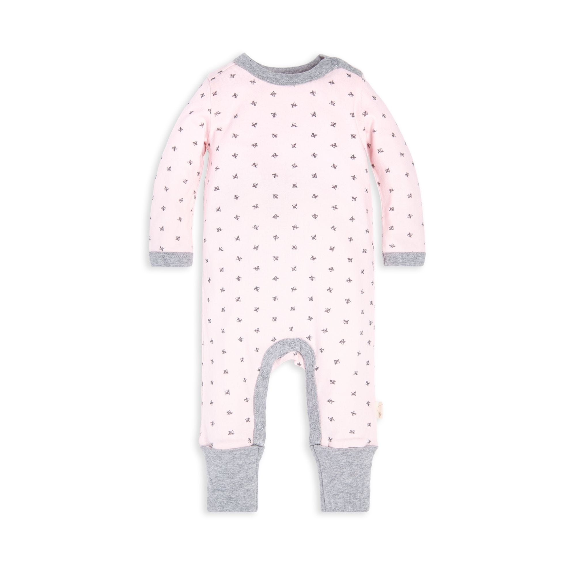 c60d83286 Sketched Bees Organic Baby Jumpsuit