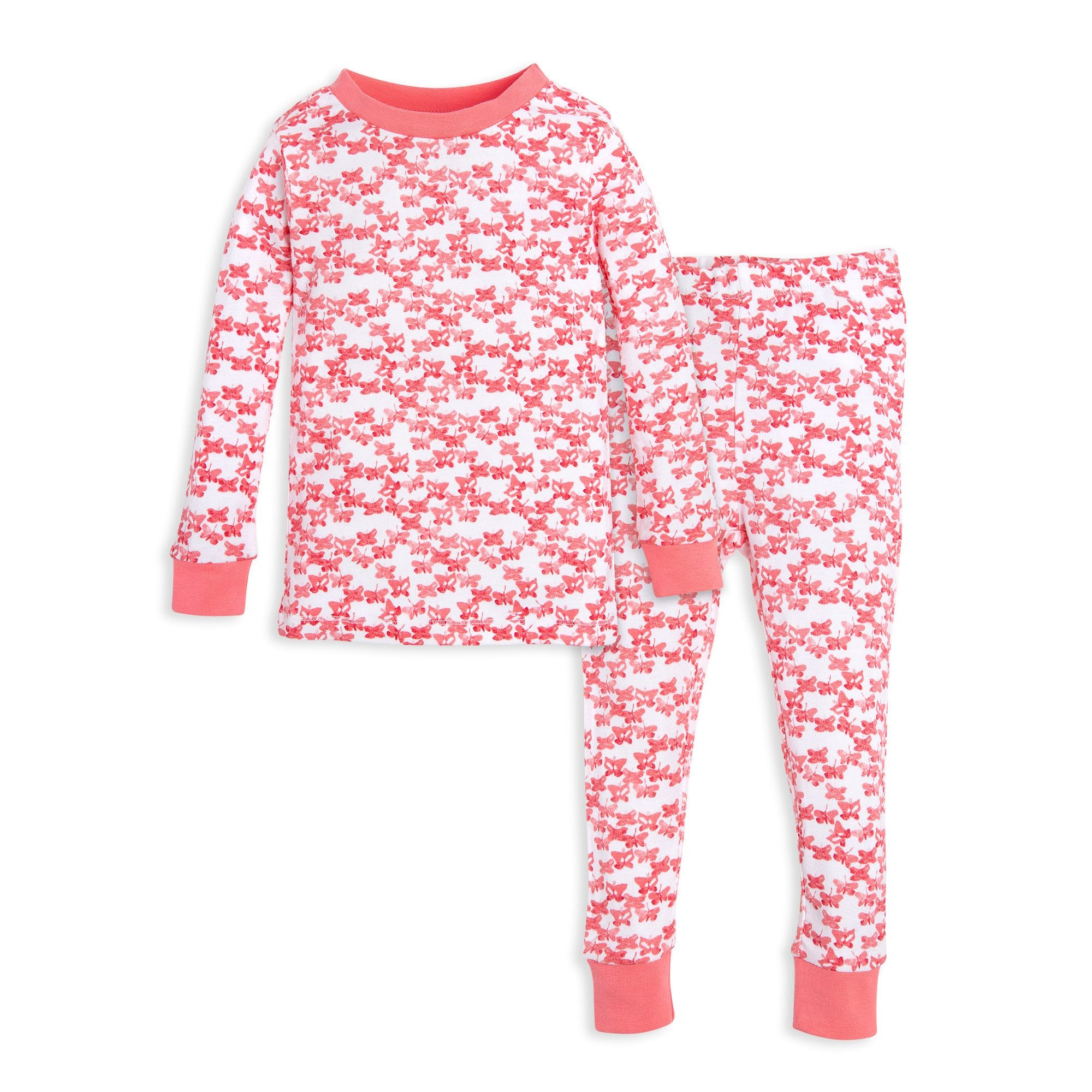 111faee68ab0 Butterfly Escape Organic Toddler Pajamas