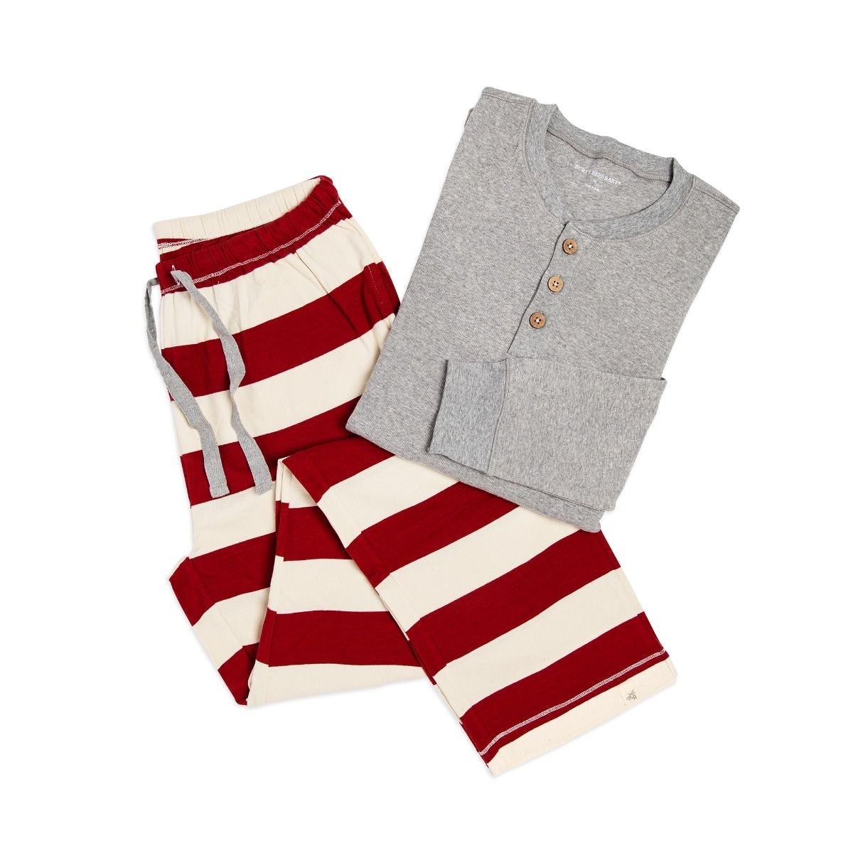 Henley   Rugby Stripe Adult Mens Holiday Matching Lounge Pants ... 2aa27f43b