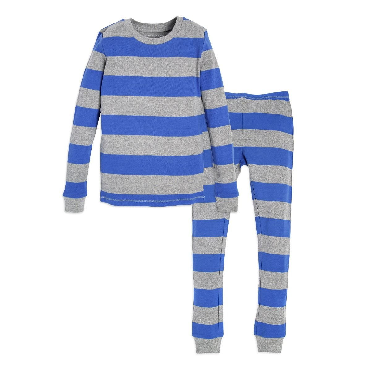0b85de668 Hanukkah Rugby Stripe Big Kids Pajamas