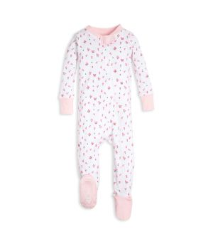 6a39a6c2b Brush Strokes Organic Toddler Pajamas