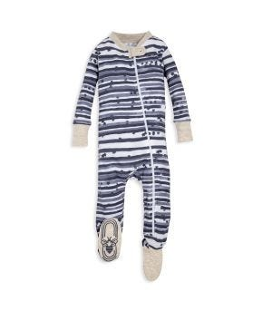 36bbfb3f2afd Organic One Piece Zip Up Footed Pajamas