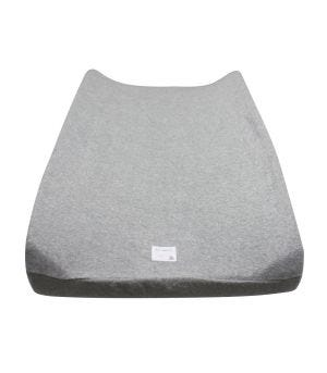 Grey Knit Terry Organic Beesnug Ed Changing Pad Cover