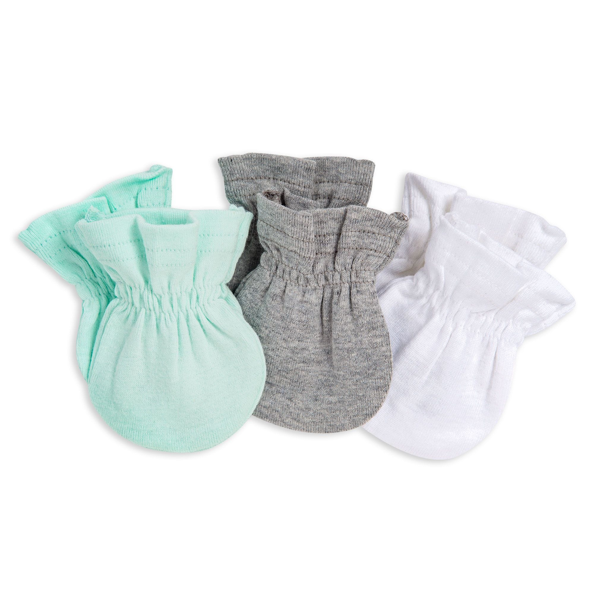 095a0485e 3 Pack Organic Baby Mittens