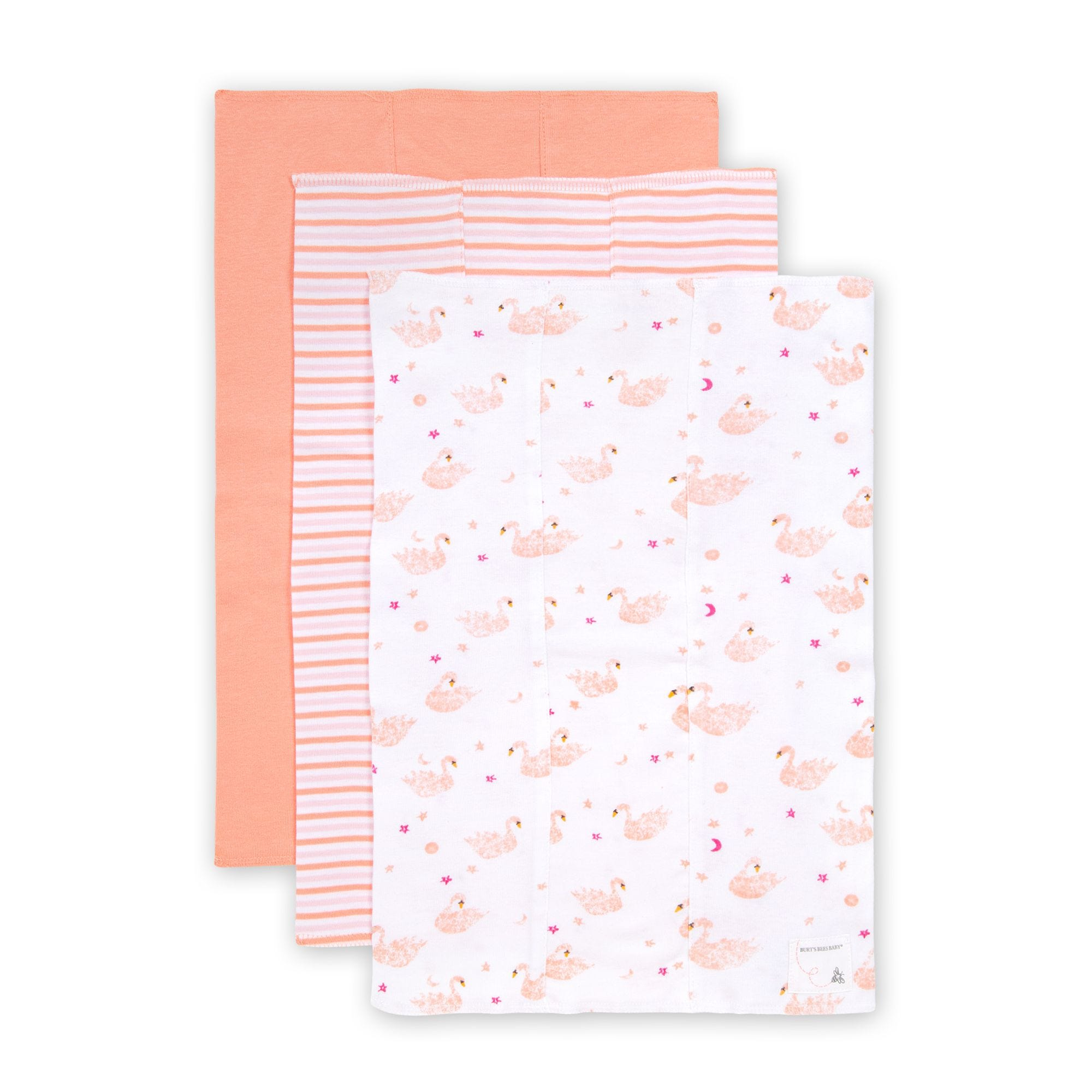 BEAUTIFUL BEGINNINGS 4 BABY WASH CLOTHES TOWELS CHILD NEWBORN BABY DRIBBLE CLOTH