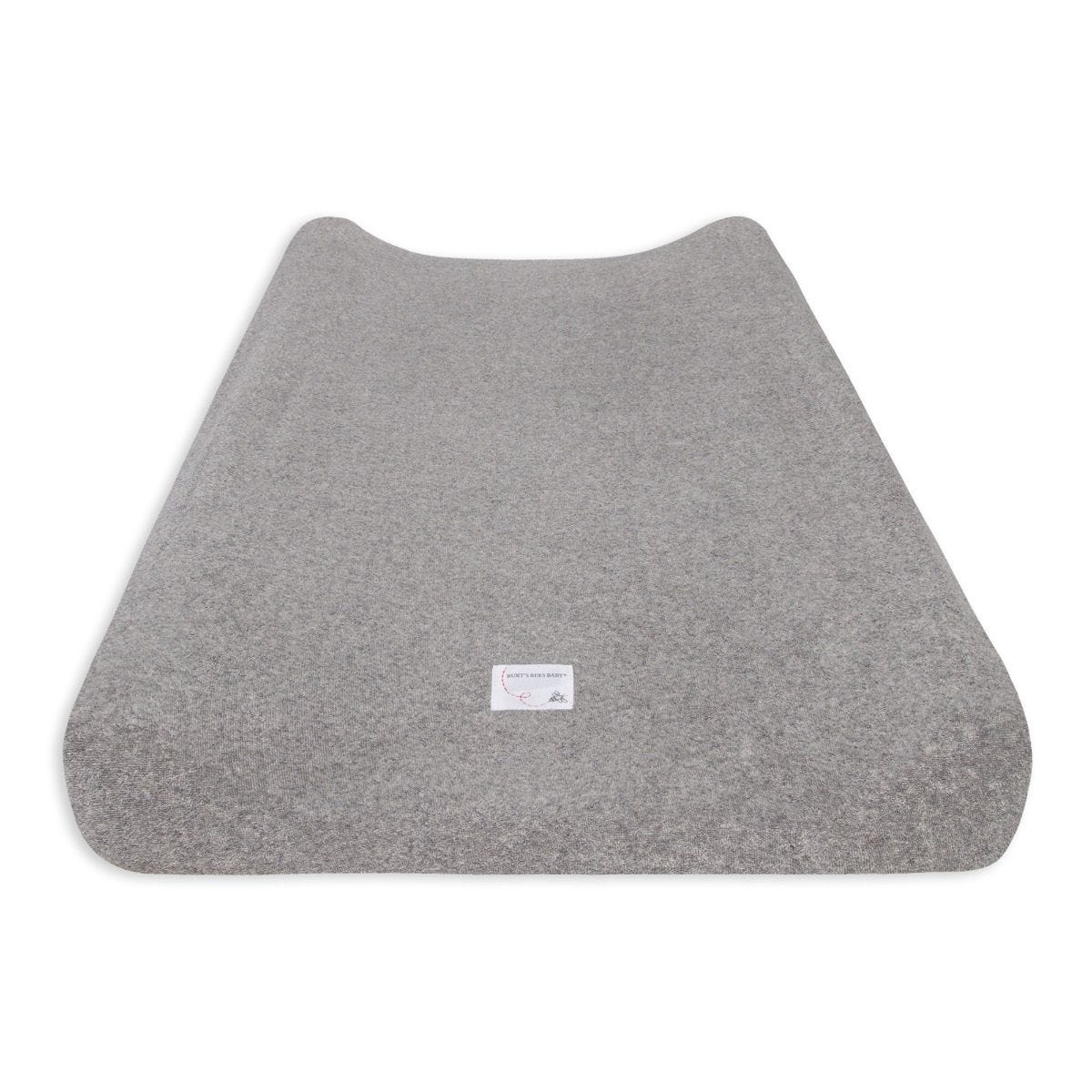 """Solid Changing Pad Cover Heather Grey 100/% Organic for Standard 16/"""" x 32/"""" Changing Pad Burts Bees Baby"""