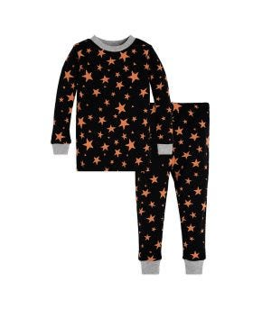 shooting star bee baby organic halloween pajamas