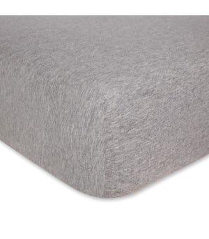Solid Organic BEESNUG Fitted Crib Sheet