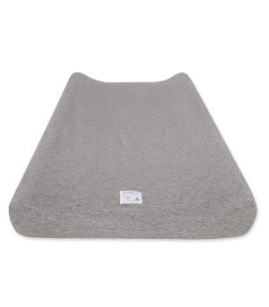 Baby Solid Jersey Knit Organic Cotton BEESNUG® Fitted Changing Pad Cover