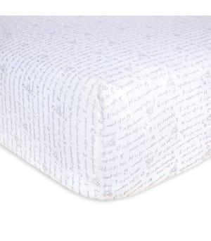 Organic Cotton BEESNUG® Fitted Crib Sheet