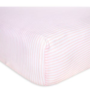 Baby Classic Stripe Organic Cotton BEESNUG® Fitted Crib Sheet