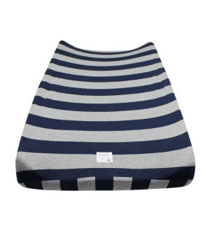 Bold Stripe Organic Cotton BEESNUG® Fitted Changing Pad Cover