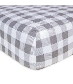 Buffalo Check Organic Cotton BEESNUG® Fitted Crib Sheet