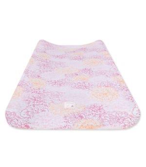 Peach Floral Print Organic Cotton BEESNUG