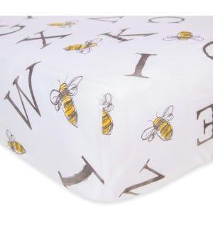 A-BEE-C Watercolor Alphabet Organic Cotton BEESNUG