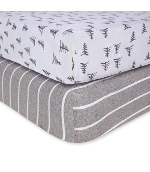 Pine Forest & Stripe Organic Cotton BEESNUG