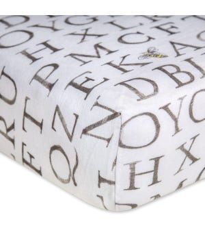 Organic Cotton BEESNUG® Fitted Crib Sheet