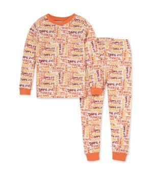 Thanksgiving Matching Organic Cotton Pajamas