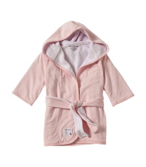 Knit Terry Hooded Robe