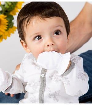 Organic Baby Mittens Cloud 3 Pack