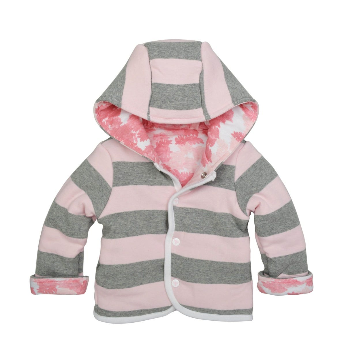 Burts Bees Baby baby-girls Sweatshirts Organic Cotton Lightweight Zip-up Jackets /& Hooded Coats