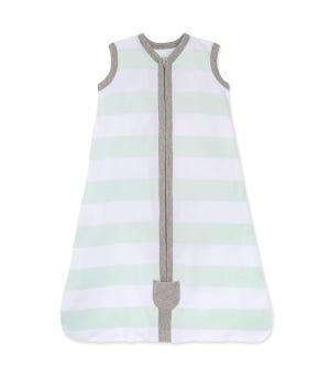 Beekeeper™ Rugby Stripe Organic Baby Wearable Blanket